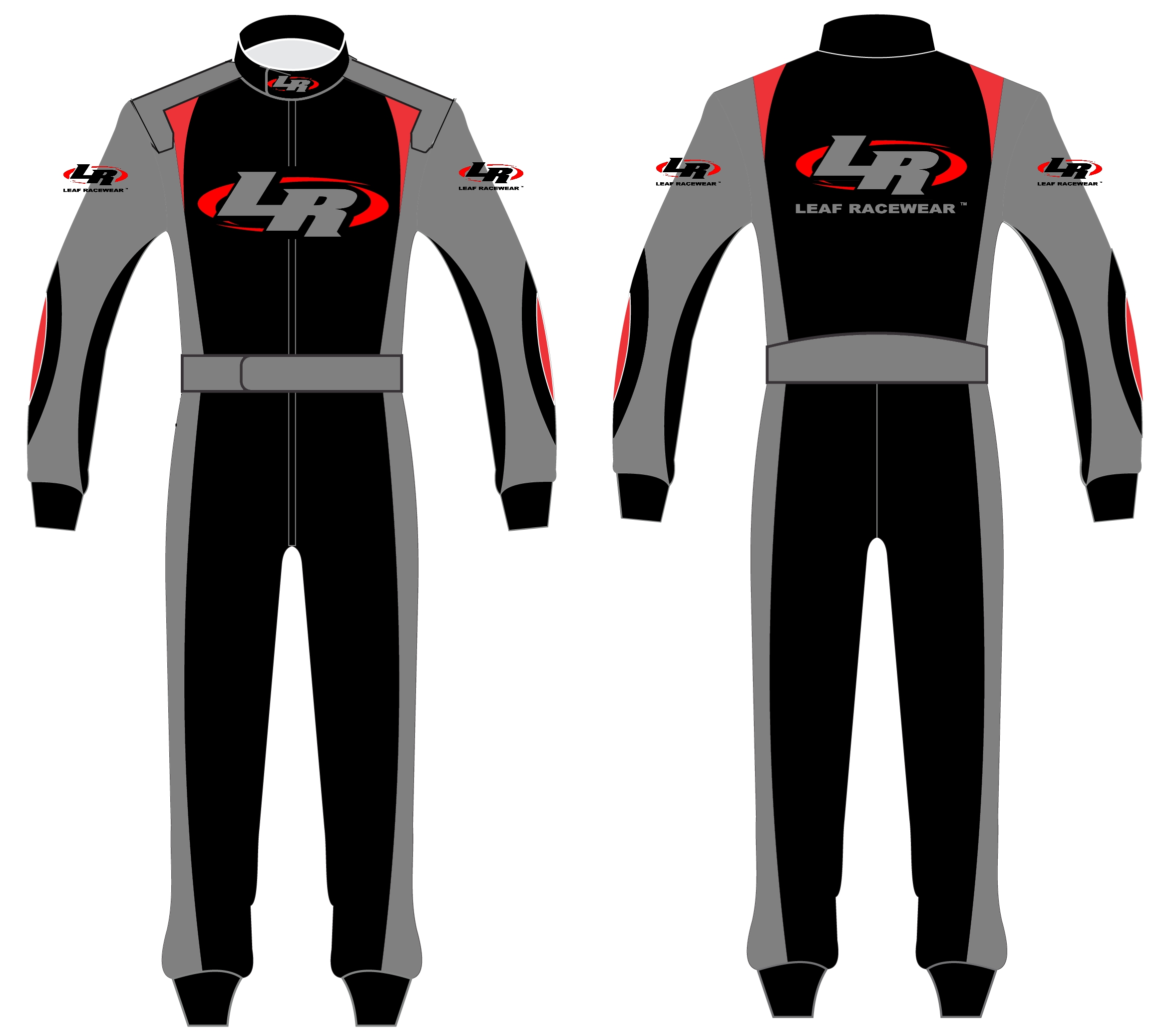 Leaf Racewear Auto Racing Suits Sublimated Crew Shirts And Safety